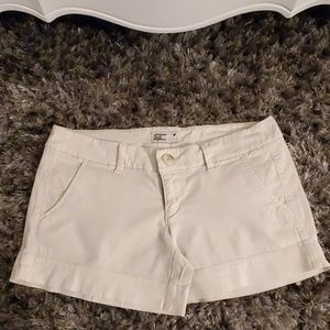 AE stretch khaki shorts